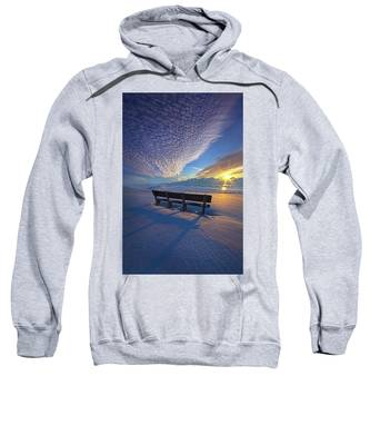 A Whole World In Front Of Us Sweatshirt