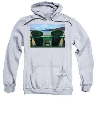 Adirondack Chair For Two Sweatshirt