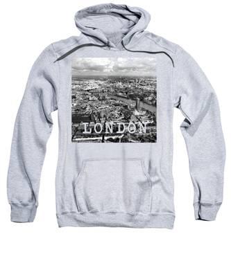 Aerial View Hooded Sweatshirts T-Shirts