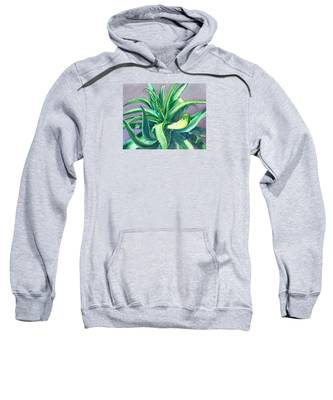 Aloe Vera Watercolor Sweatshirt