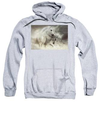 Arabian Horses Sandstorm Sweatshirt