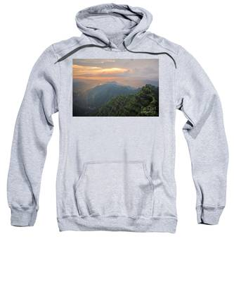 Arthurs Seat At Dusk Sweatshirt