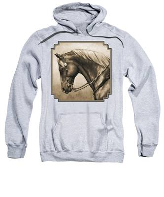Horse Hooded Sweatshirts T-Shirts