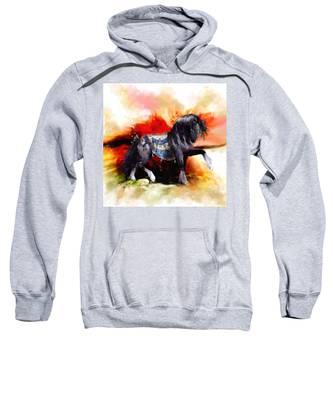 Kachina Hopi Spirit Horse  Sweatshirt