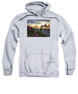 Beach Flowers Sweatshirt