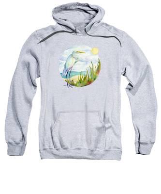 Beach Heron Sweatshirt