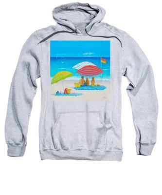 Beach Painting - Endless Summer Days Sweatshirt