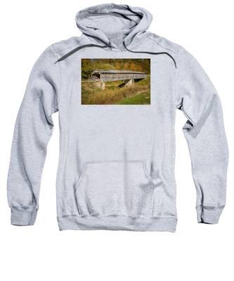 Beech Fork Or Mooresville Covered Bridge Sweatshirt