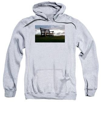 Bench At Sunset Sweatshirt