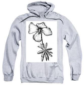 Birdsfoot Violet Sweatshirt