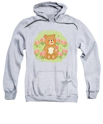 Natures Bees Hooded Sweatshirts T-Shirts