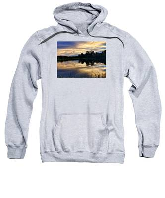 Blue Sunset Sweatshirt