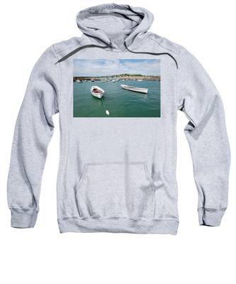Boats In Habour Sweatshirt