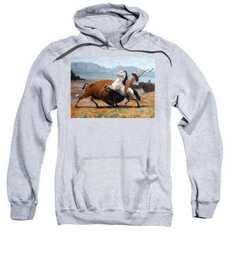 Buffalo Hunt Sweatshirt