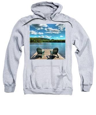 Calm In The Adirondacks Sweatshirt