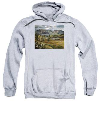 Cannon Mountain From Sugar Hill New Hampshire Sweatshirt