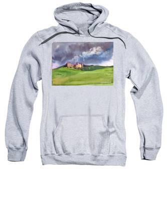 Castle Under Clouds Sweatshirt