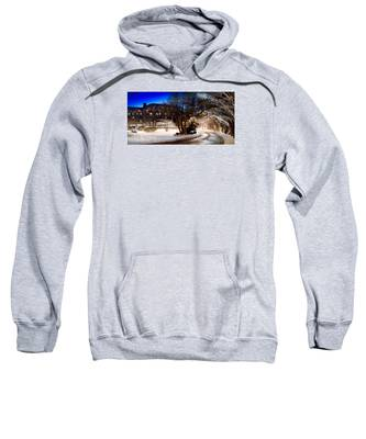 Celebrate The Winter Night Sweatshirt