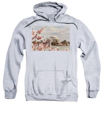 Cherry Blossom And Jefferson Sweatshirt
