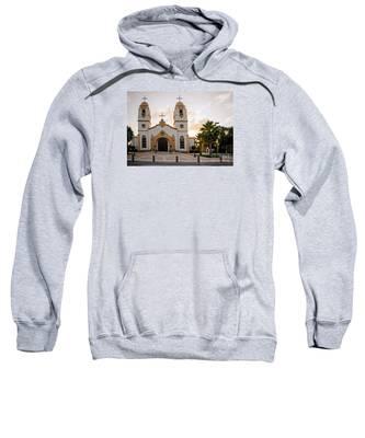 Church At Sunset Sweatshirt