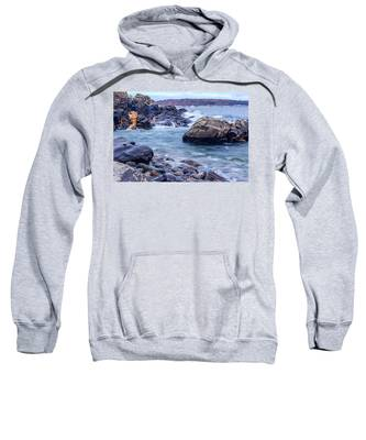 Coast Of Maine In Autumn Sweatshirt