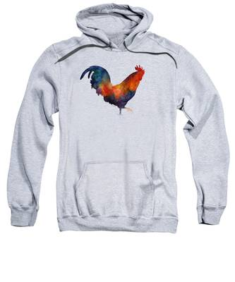 Rooster Hooded Sweatshirts T-Shirts