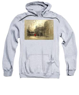 Couple In City Sweatshirt