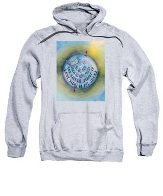 Courage To Lose Sight Of The Shore Mini Ocean Planet World Sweatshirt