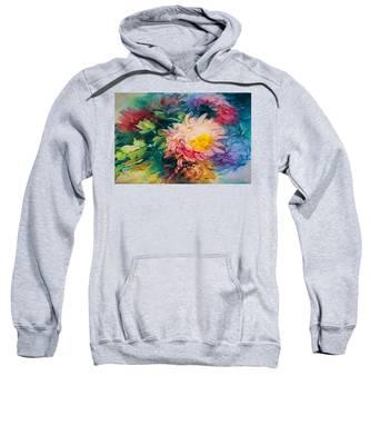 Chrysanthemums Sweatshirt