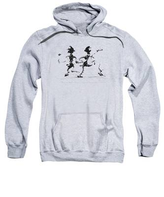 Dancing Couple 3 Sweatshirt by Manuel Sueess