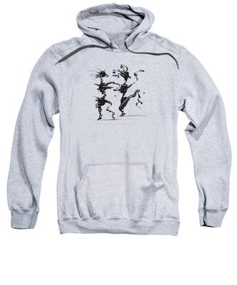Dancing Couple 4 Sweatshirt by Manuel Sueess