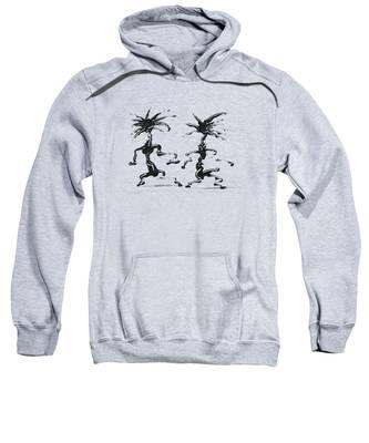 Dancing Couple 5 Sweatshirt by Manuel Sueess