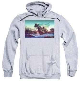Derelict Ship Sweatshirt