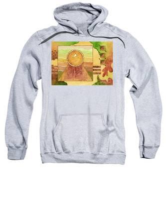 Earthtones Hooded Sweatshirts T-Shirts