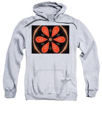 Embroidered Cloth Sweatshirt