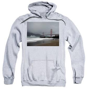 Entering The Golden Gate Sweatshirt