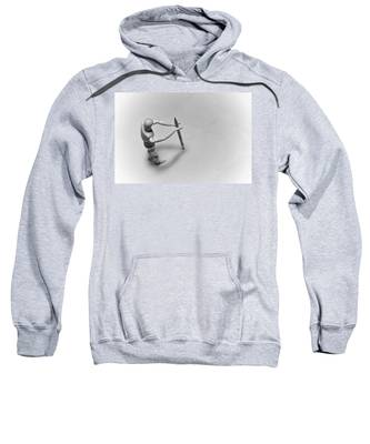 Erasing His Tracks Sweatshirt