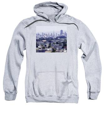 Looking East Toward San Francisco Sweatshirt