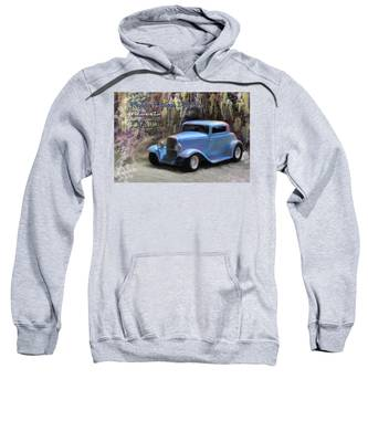 Sweatshirt featuring the painting Fathers Day Classic Dad by Susan Kinney