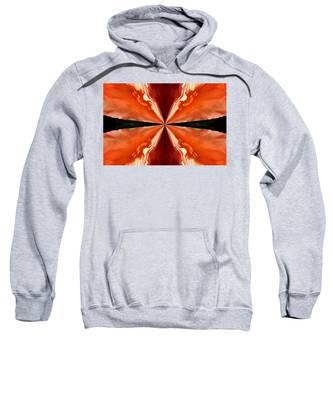 Floral Butterfly Sweatshirt