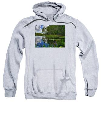 Florida Wetlands Reflections Sweatshirt