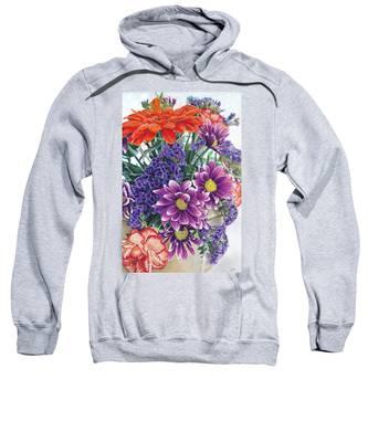Flowers From Daughter Sweatshirt