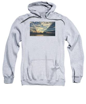 Flying To The Left Sweatshirt