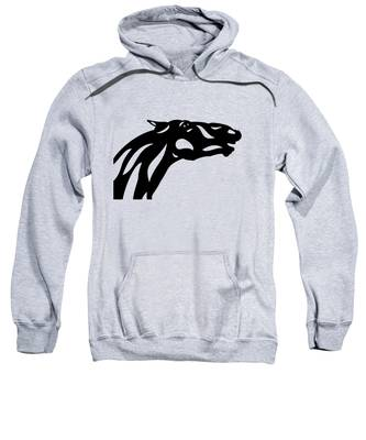 Fred - Abstract Horse Sweatshirt by Manuel Sueess