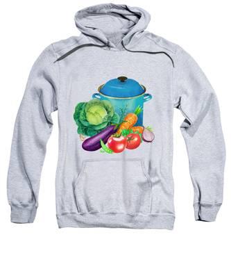 Garlic Hooded Sweatshirts T-Shirts