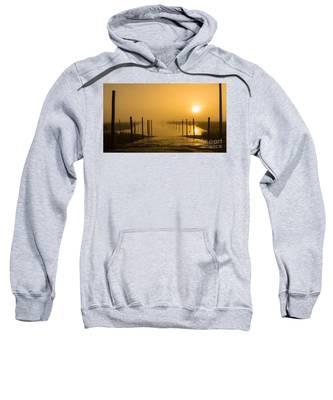 Golden Fog On The Nissequogue Sweatshirt