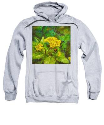 Golden Summer Blooms Sweatshirt