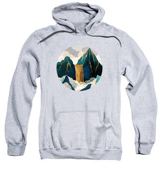 Waterfall Hooded Sweatshirts T-Shirts
