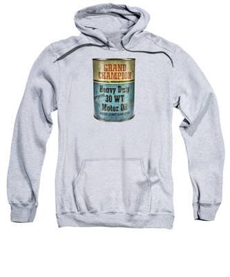 Oil Hooded Sweatshirts T-Shirts