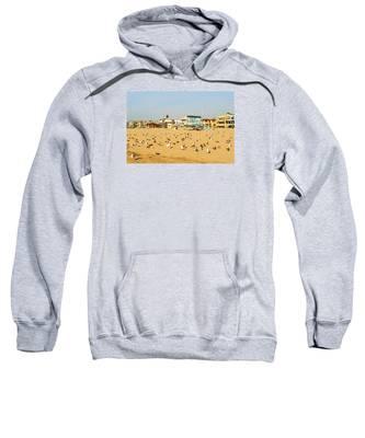 Gulls On Sand Sweatshirt